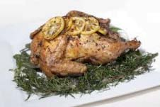 Lemony Roasted Chicken