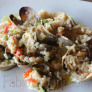 Chile And Clams Risotto