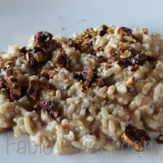 Roasted Walnut Risotto
