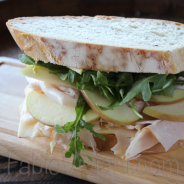 Turkey, Pepperjack, and Apple Sandwich