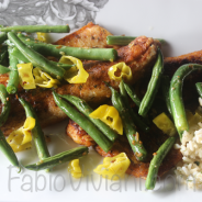 Spiced Snapper with Green Beans and Lime