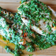 Grilled Chicken with Caper Sauce