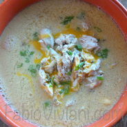 Rotisserie Chicken Egg Soup