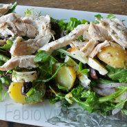 Roasted Chicken, Arugula, Potato Salad