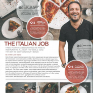 "Aventura magazine, October 2014 ""The Italian Job"""