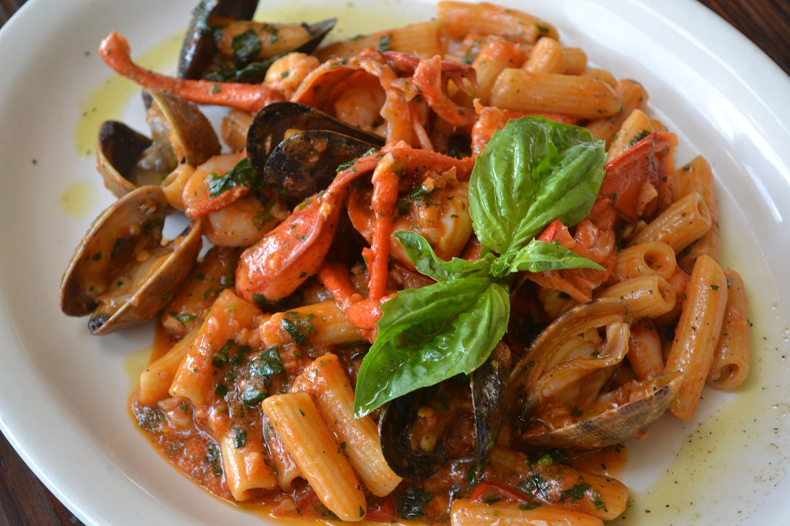 mussels and shrimp fra diavolo recipe