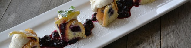 Lemon & Blueberry Bundt Cake