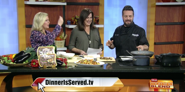 Cooking with Celebrity Chef Fabio Viviani