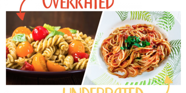 CHEFS NAME THE MOST OVERRATED AND UNDERRATED PASTAS