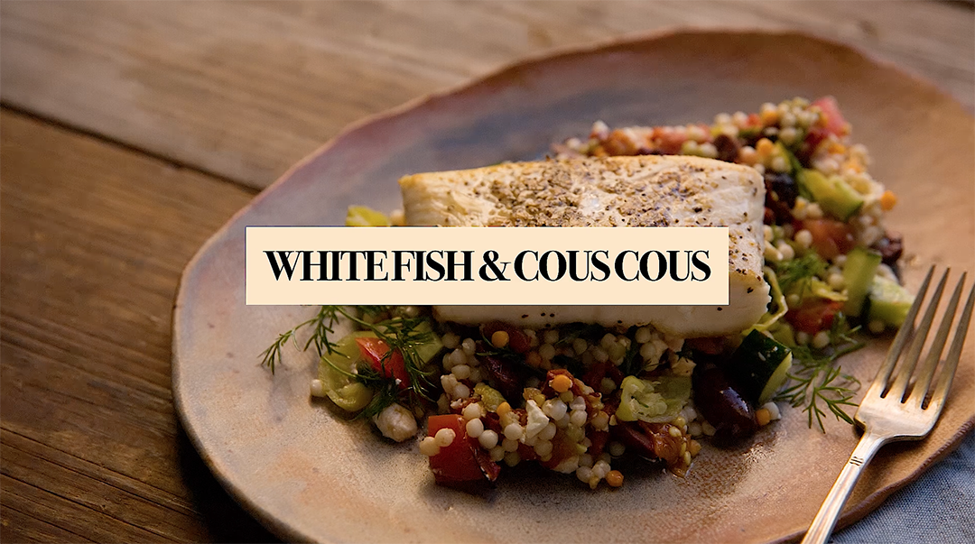 White Fish and Couscous