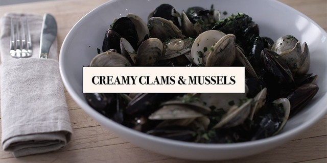Creamy-Clams-and-Mussels