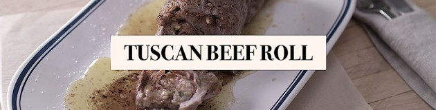 Tuscan Beef Roll