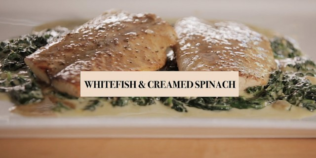 whitefish-creamed-spinach